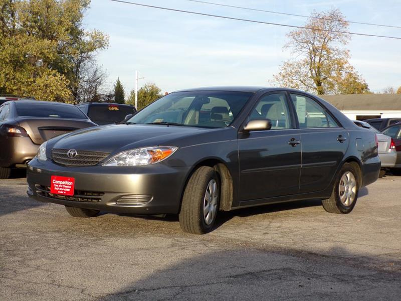 2004 Toyota Camry LE In Salem VA - COMPETITION CARS & CLASSICS ...