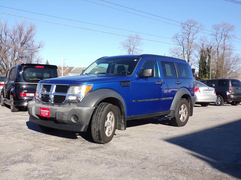 2007 Dodge Nitro SXT In Salem VA - COMPETITION CARS & CLASSICS ...