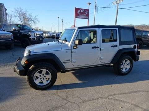 2010 Jeep Wrangler Unlimited for sale in Moundsville, WV