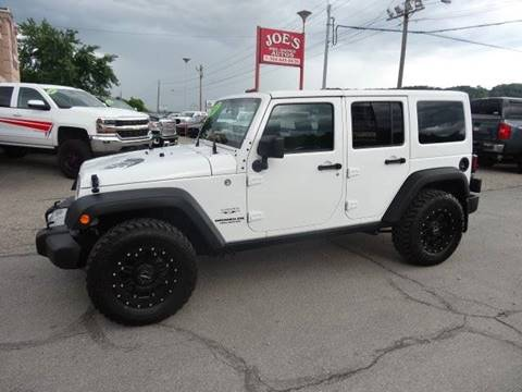 2017 Jeep Wrangler Unlimited for sale in Moundsville, WV