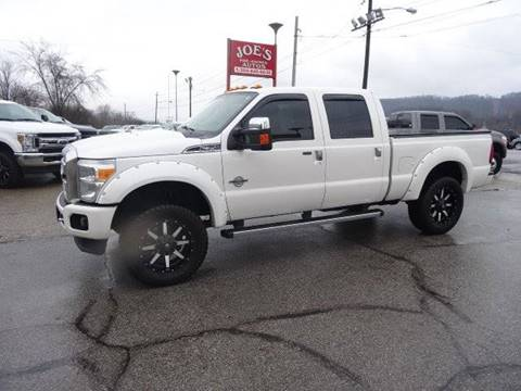 2014 Ford F-350 Super Duty Platinum for sale at Joe's Preowned Autos in Moundsville WV