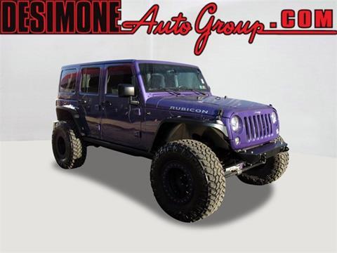 2017 Jeep Wrangler Unlimited for sale in Philadelphia, PA