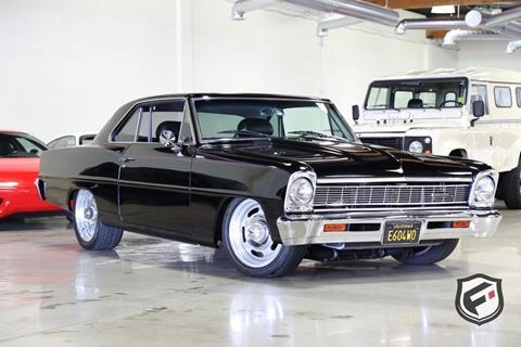 1966 Chevrolet Nova for sale in Chatsworth, CA