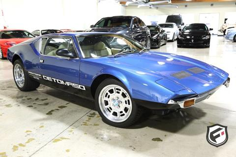 Pantera For Sale >> 1972 De Tomaso Pantera For Sale In Chatsworth Ca