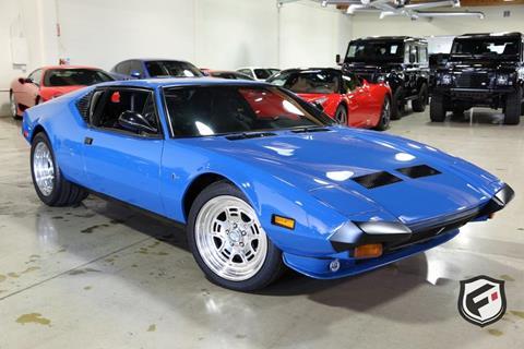1973 De Tomaso Pantera for sale in Chatsworth, CA
