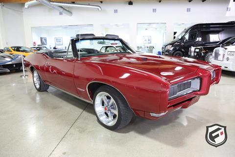 1968 Pontiac GTO for sale in Chatsworth, CA
