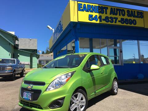 2014 Chevrolet Spark for sale at Earnest Auto Sales in Roseburg OR