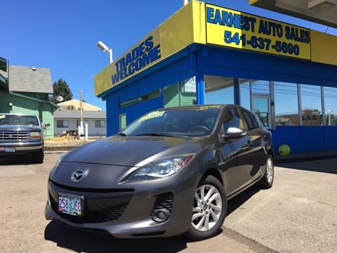 2013 Mazda MAZDA3 for sale at Earnest Auto Sales in Roseburg OR