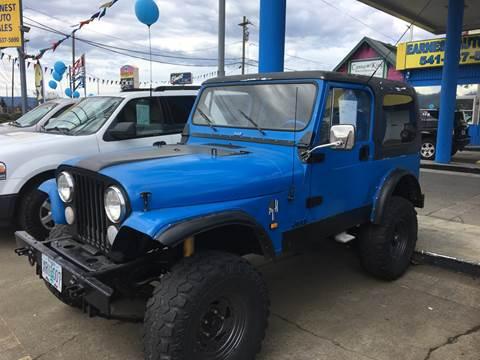1985 Jeep CJ-7 for sale in Roseburg, OR