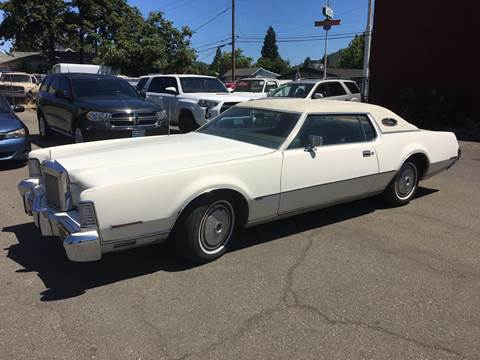 1973 Lincoln Continental for sale in Roseburg, OR