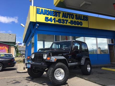 1998 Jeep Wrangler for sale in Roseburg, OR