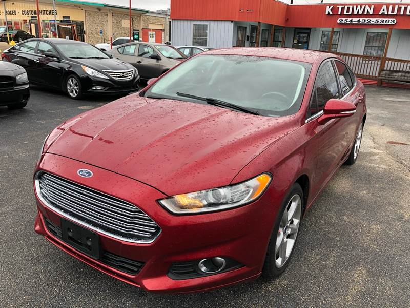 2013 Ford Fusion Se 4dr Sedan In Killeen Tx K Town Auto