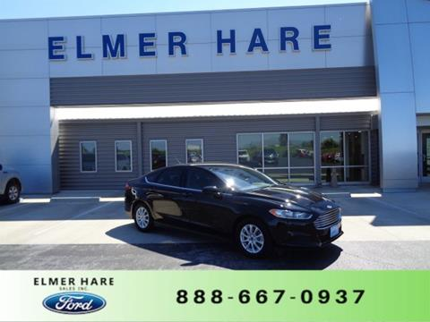 2016 Ford Fusion for sale in Marshall, MO