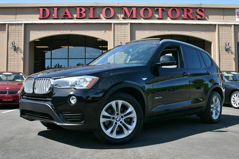 2015 BMW X3 for sale in San Ramon, CA
