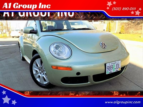 2009 Volkswagen New Beetle for sale at A1 Group Inc in Portland OR