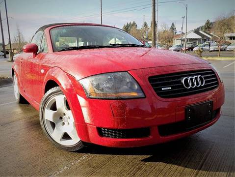 2001 Audi TT for sale at A1 Group Inc in Portland OR
