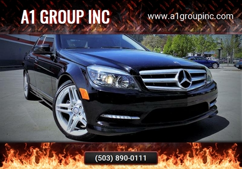 2011 Mercedes-Benz C-Class for sale at A1 Group Inc in Portland OR