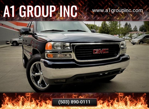 2004 GMC Yukon for sale at A1 Group Inc in Portland OR