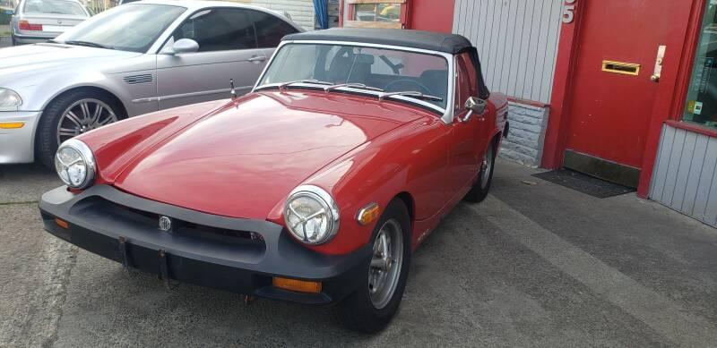 1975 MG Midget phase IV - Portland OR