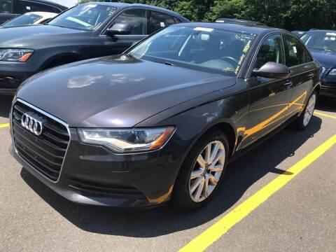 2014 Audi A6 2.0T quattro Premium Plus for sale at USA Auto Sales in Kensington CT