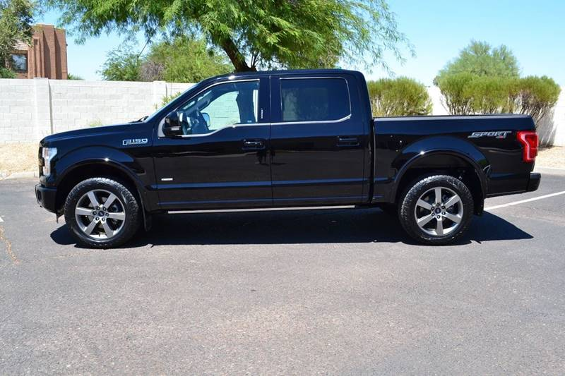 2016 Ford F-150 4x4 Lariat 4dr SuperCrew 5.5 ft. SB - Tempe AZ