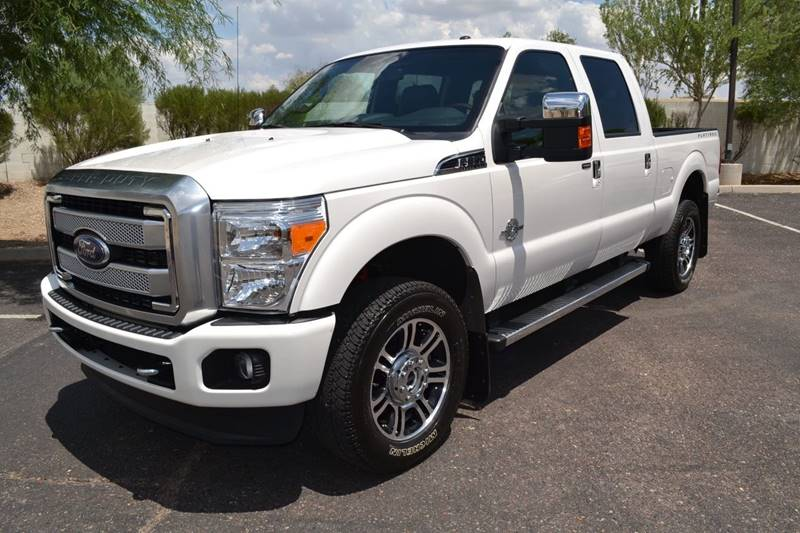 2016 Ford F-350 Super Duty 4x4 Platinum 4dr Crew Cab 6.8 ft. SB SRW Pickup - Tempe AZ