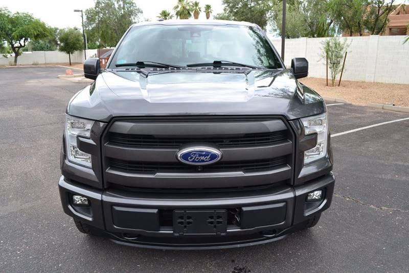 2015 Ford F-150 4x4 Lariat 4dr SuperCrew 5.5 ft. SB - Tempe AZ