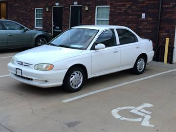 2001 Kia Sephia for sale at A&M Enterprises in Concord NC