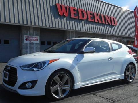 2015 Hyundai Veloster Turbo for sale in Schenectady, NY