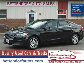 2014 Ford Fusion for sale in Moline, IL