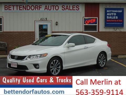 2014 Honda Accord for sale in Moline, IL