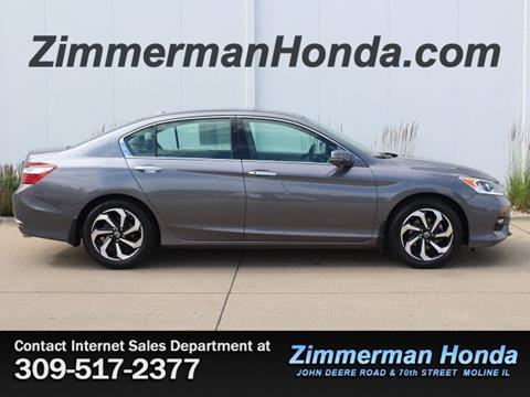 2016 Honda Accord for sale in Moline, IL