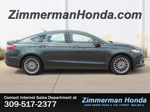 2015 Ford Fusion for sale in Moline, IL