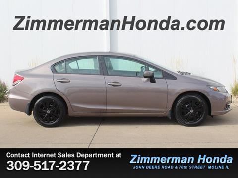 2015 Honda Civic for sale in Moline, IL