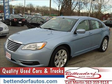2012 Chrysler 200 for sale in Moline, IL