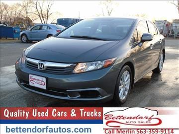 2012 Honda Civic for sale in Moline, IL