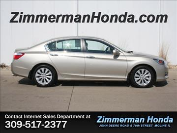 2014 Honda Accord for sale in Moline, IL