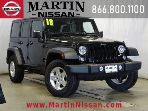 2018 Jeep Wrangler Unlimited for sale in Skokie, IL