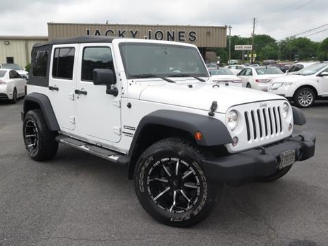 2015 Jeep Wrangler Unlimited for sale in Gainesville, GA