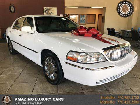 2010 Lincoln Town Car for sale in Snellville, GA