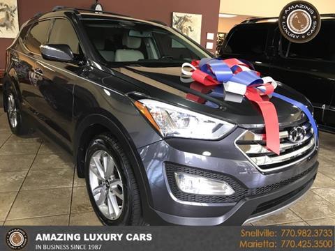 2015 Hyundai Santa Fe Sport for sale at Amazing Luxury Cars in Snellville GA