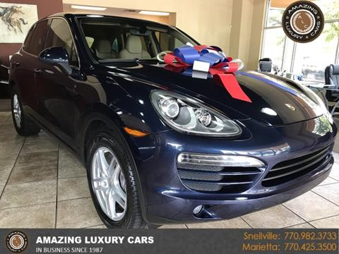 2012 Porsche Cayenne for sale at Amazing Luxury Cars in Snellville GA