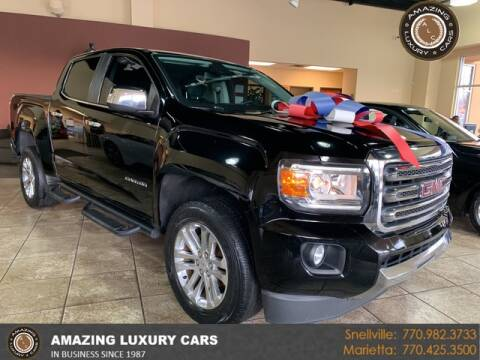 2016 GMC Canyon for sale at Amazing Luxury Cars in Snellville GA