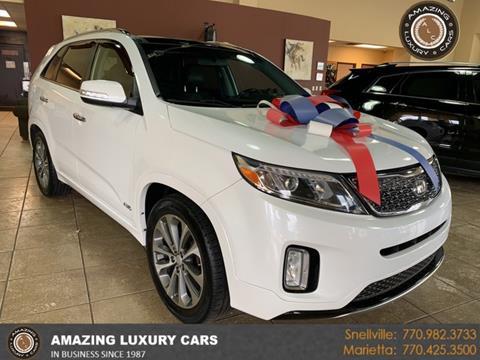 2015 Kia Sorento for sale at Amazing Luxury Cars in Snellville GA