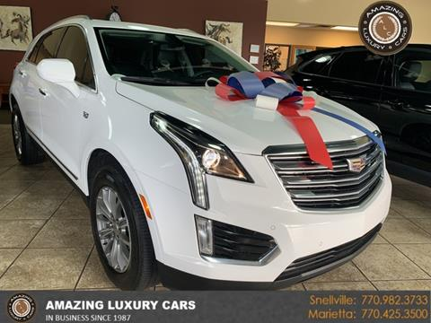 2017 Cadillac XT5 for sale at Amazing Luxury Cars in Snellville GA