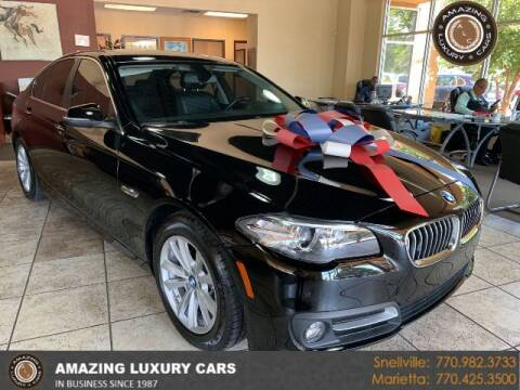 2016 BMW 5 Series for sale at Amazing Luxury Cars in Snellville GA