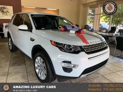 2016 Land Rover Discovery Sport for sale at Amazing Luxury Cars in Snellville GA