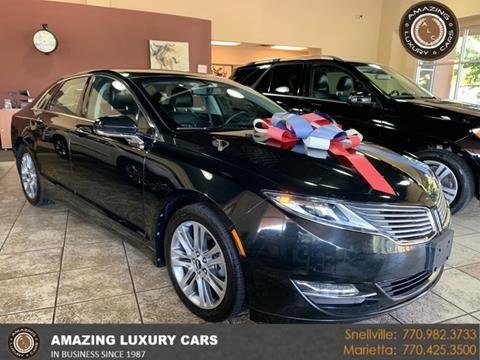 2013 Lincoln MKZ Hybrid for sale at Amazing Luxury Cars in Snellville GA