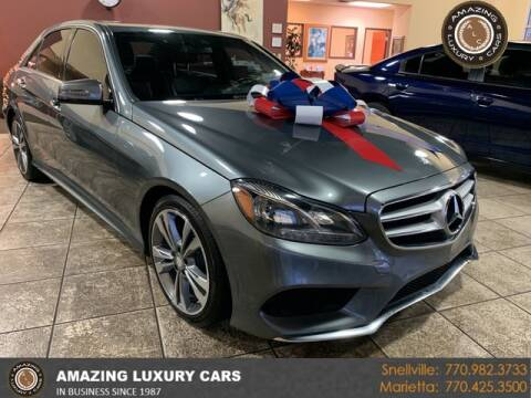2016 Mercedes-Benz E-Class for sale at Amazing Luxury Cars in Snellville GA