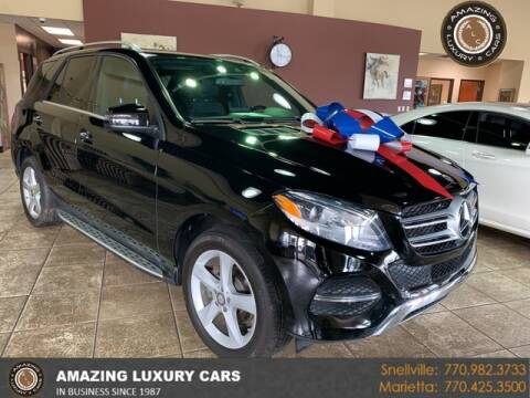 2016 Mercedes-Benz GLE for sale at Amazing Luxury Cars in Snellville GA